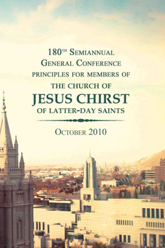 180th Semiannual General Conference Principles